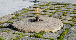John_F_Kennedy_eternal_flame_after_2013_upgrade_-_2013-05-30