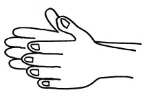 hands-straight